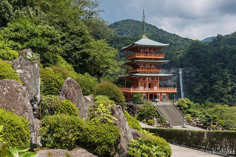 Nachi-taisha en el camino de Kumano o Kumano Kodo