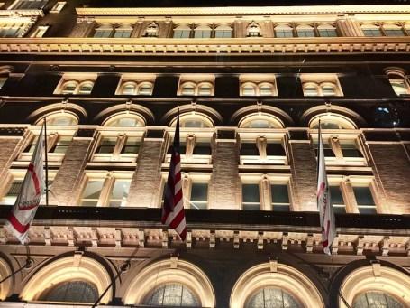 Facade, Carnegie Hall