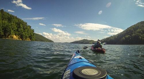 Lake Jocassee with Bennie Waddell-115