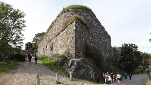 Patrimonio de la Humanidad en Europa y América del Norte. Finlandia. Fortaleza de Suomenlinna.