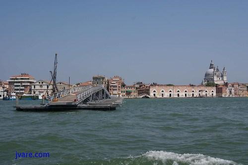 Puente para las fiestas del Redentor en Venecia