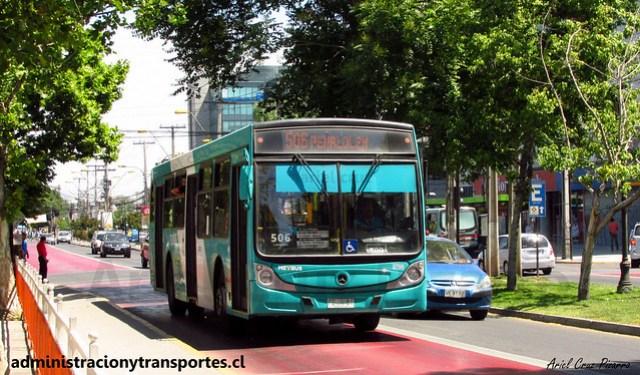 Transantiago 506 | Metbus | Caio Mondego H - Mercedes Benz / FDJX81 - 709