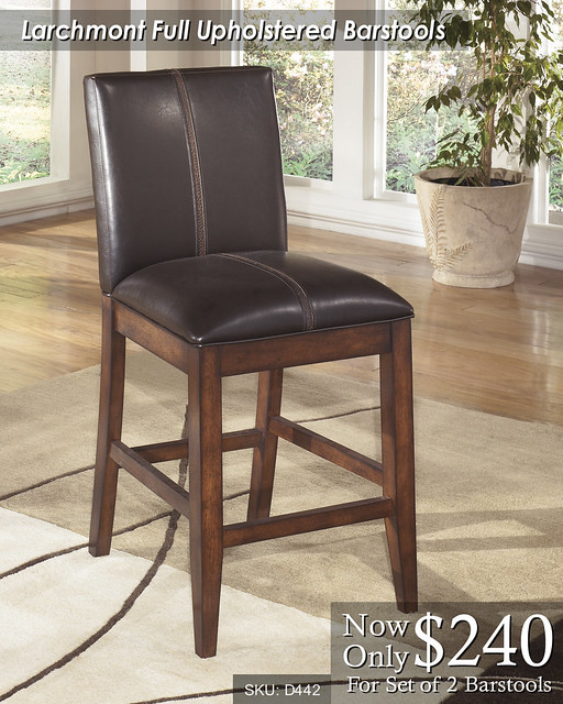 Larchmont Upholstered Barstools