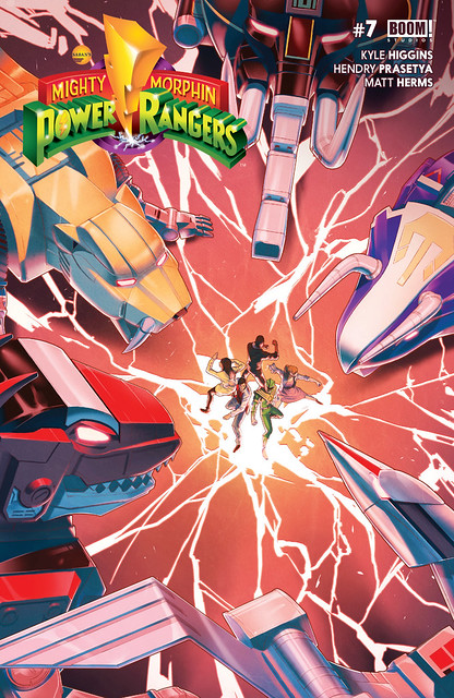 29508376290_4328cd0c35_z ComicList Preview: MIGHTY MORPHIN POWER RANGERS #7
