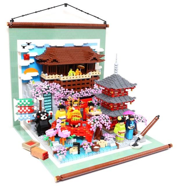 LEGO Culture of Japan - Kyoto Kiyomizu