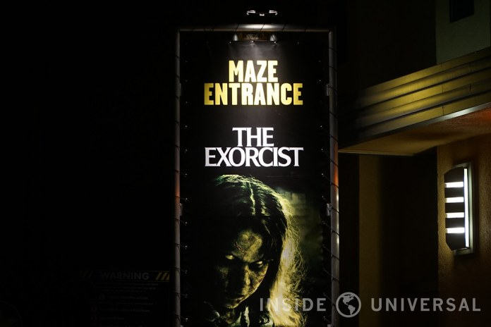 the exorcist 2016 halloween horror nights at universal studios