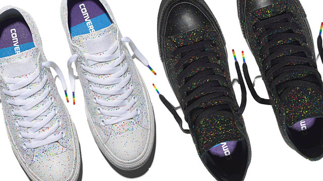 3f87b9c22f50 Converse Chuck Taylor Duane Bacon Blogger Mens Wear Pride Love Wins Sneakers