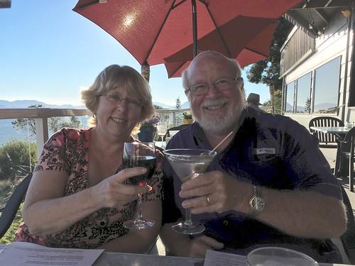 Tom and Laura at Chuckanut Manor