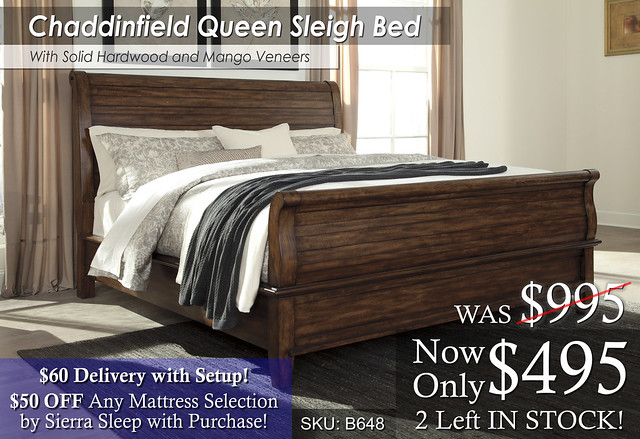 Chaddinfield Queen Bed Special