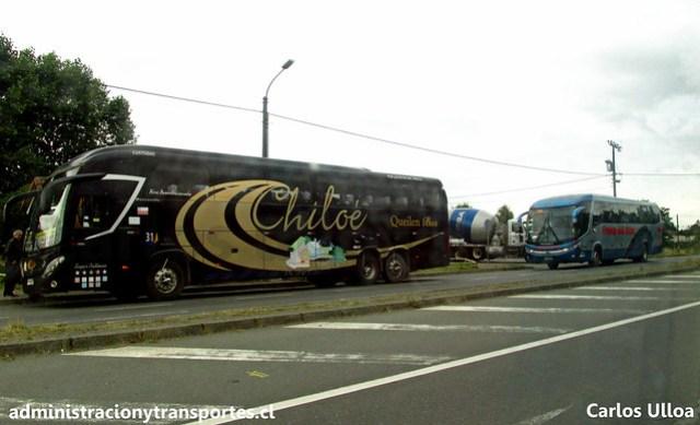 Queilen Bus #31 & Cruz del Sur #748