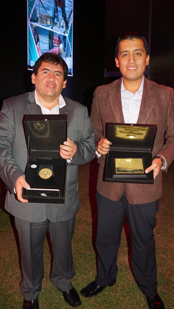 Mapfre entrega premio Compañía Minera Volcan-Unidad San Cristóbal