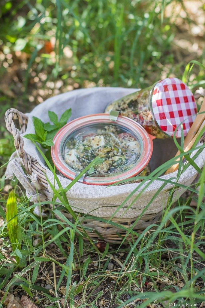 Insalata di quinoa e verdure grigliate3