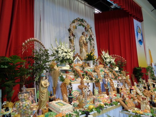 St Joseph Altar at St Joseph Church and Shrine, Gretna LA