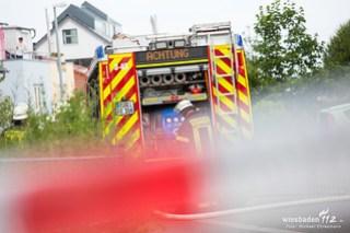 Gasleitung zerstört Hattenheim 14.07.16