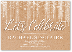 13th birthday invitations shutterfly