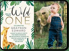 baby boy s first birthday invitations