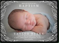 baptism invitations christening