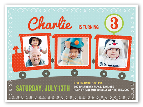 Personalized Baptism Invitation Cards