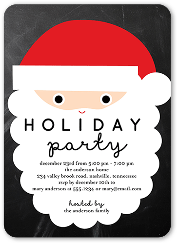 Kids Christmas Party Invitations Shutterfly