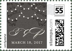 custom postage stamps wedding