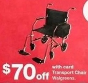 transport chair walgreens picnic time folding walgreen w card 70 off at on black friday