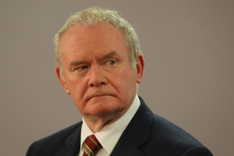 Image result for Martin McGuinness says he was 'in the dark' over Project Eagle