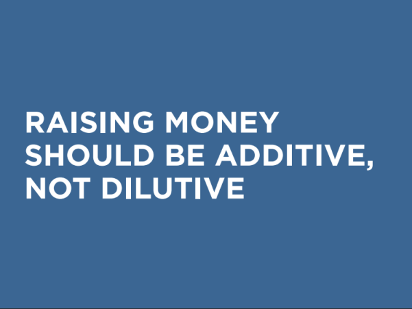 Matt Robinson GoCardless - Raising Money Additive Not Dilutive
