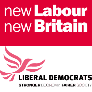 New Labour - Lib Dems