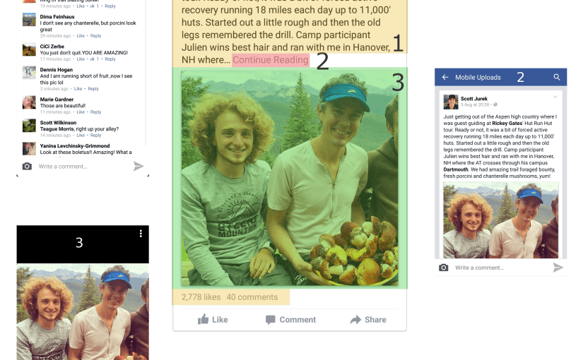 Facebook Android app – a UX minefield