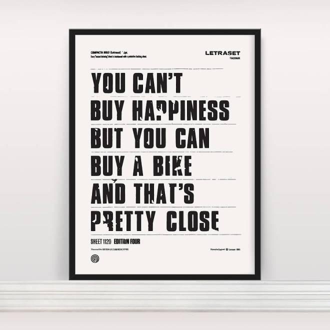 Buy Happiness, Buy A Bike