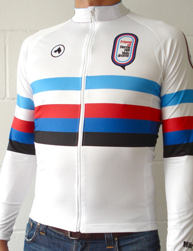 'Friends Of Herne Hill Velodrome' jersey, by Milltag