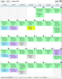 January 2015 - Run every day challenge