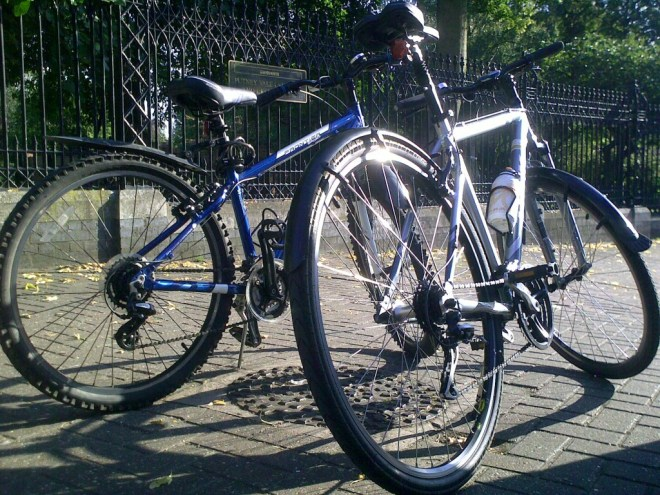 Our first bikes