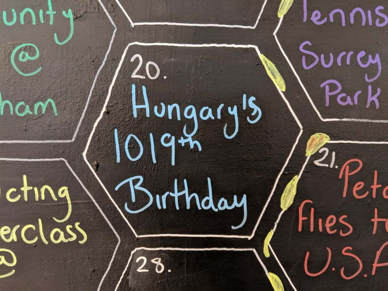 Hungary's 1019th birthday