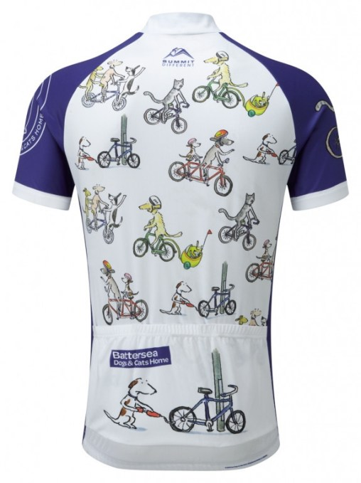 Battersea Dogs & Cats Home Cycling Jersey - Back