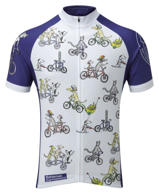 Battersea Dogs & Cats Home Cycling Jersey - Front