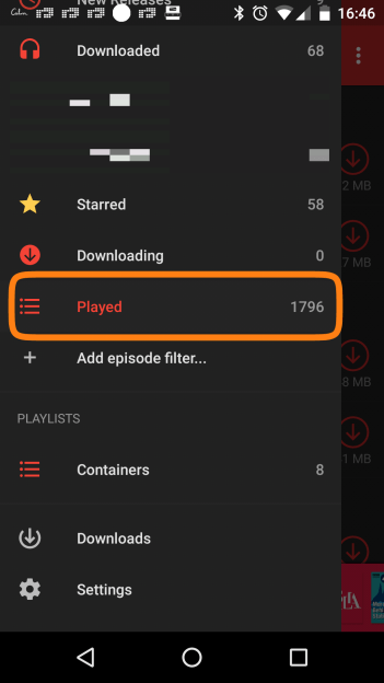 1796 listened episodes in under 2 years :(