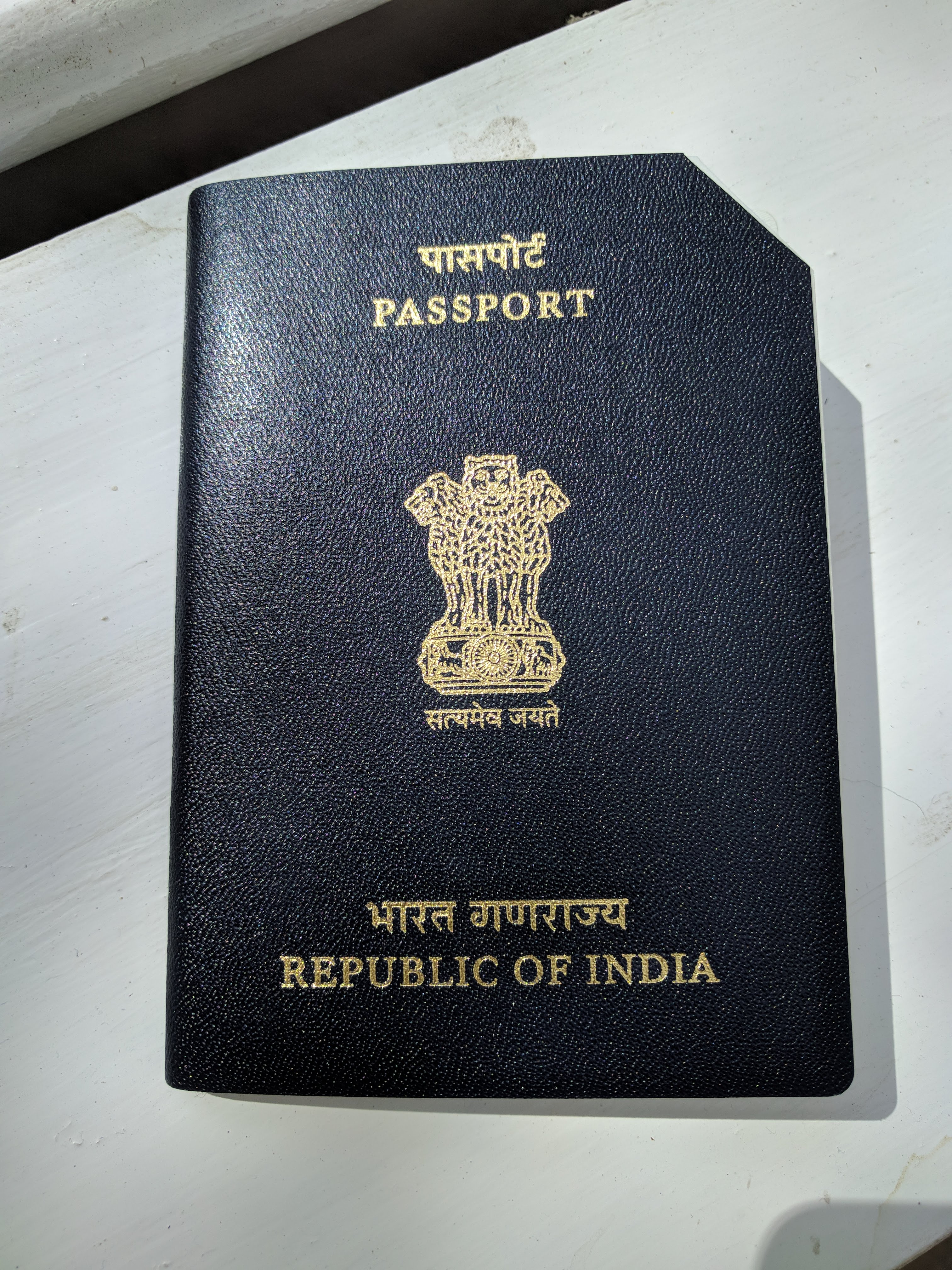 Old Indian Passport