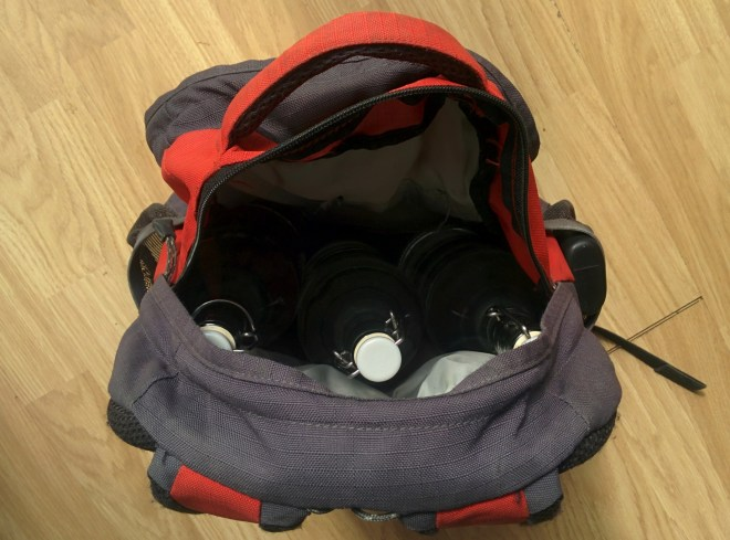 Weighted bag - 5.9kg (and a bit)