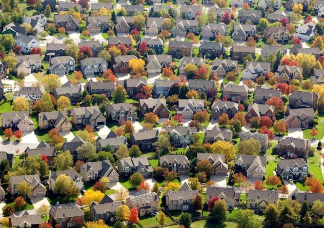 Autumn - Suburbs
