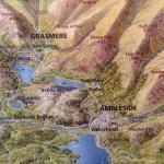 Lake District Map - Ambleside & Grasmere