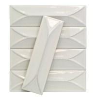 Byzantine Bianco 3D Ceramic Tile