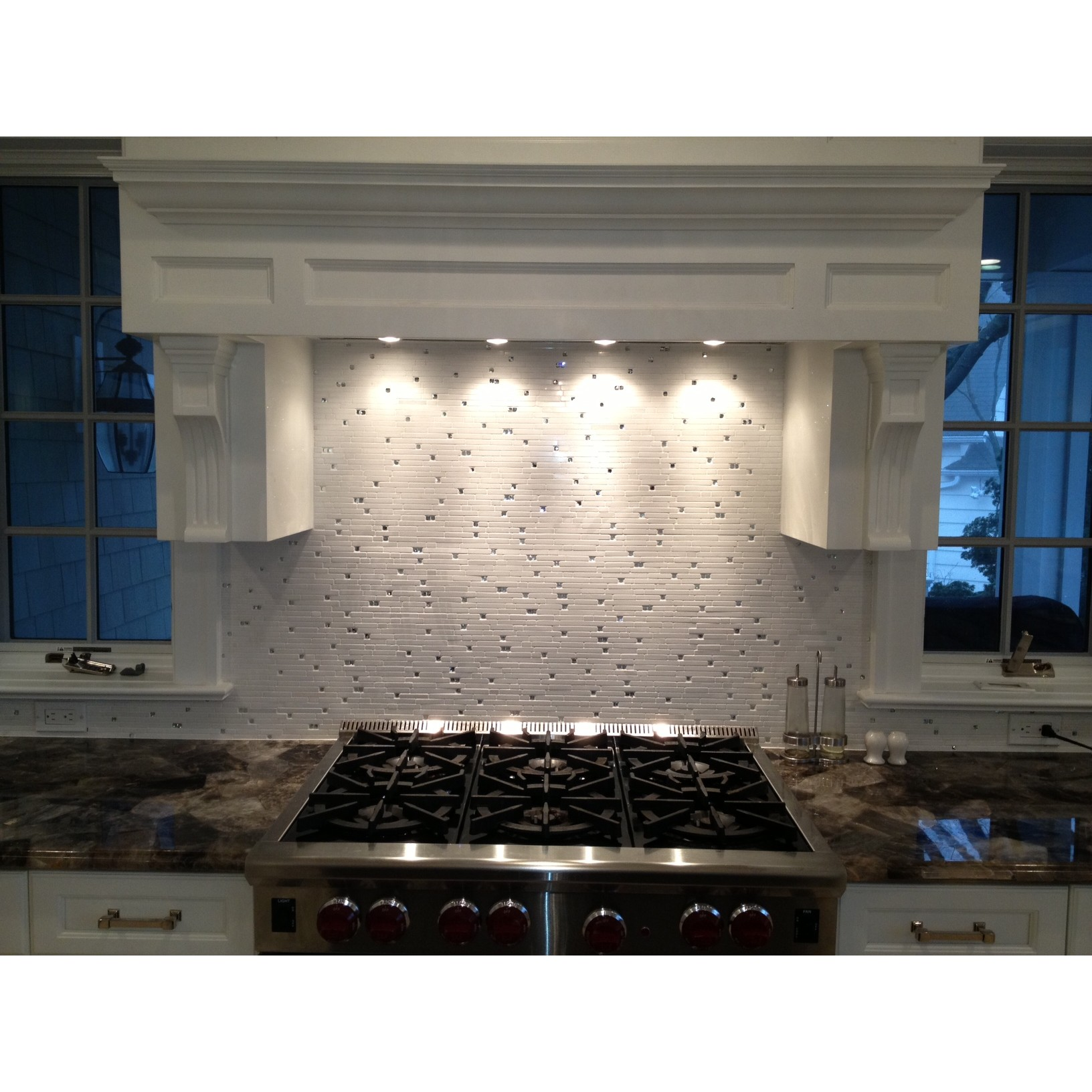 nchanted Grecian Marble and Glass Tile