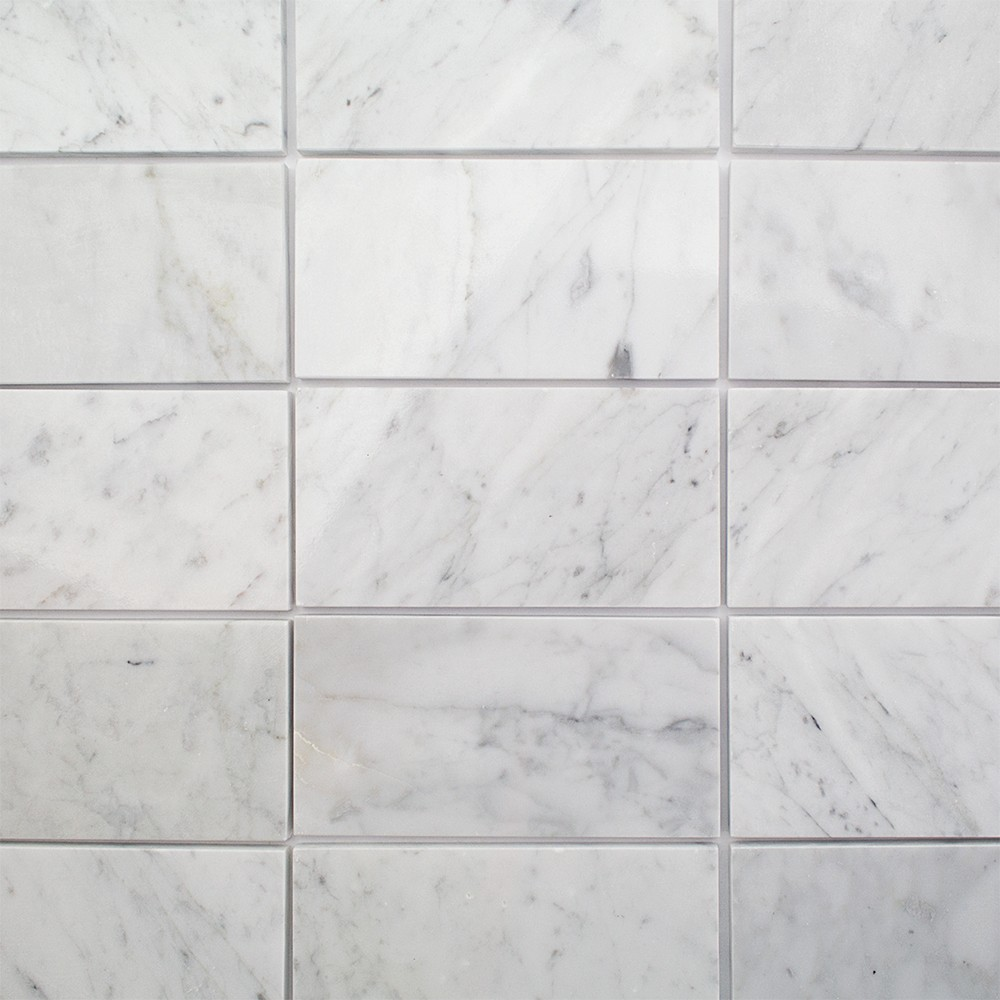 Shop For Speranza Carrera 3x6 Polished Marble Tile at