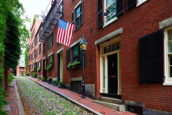 Acorn Street Beacon Hill Boston