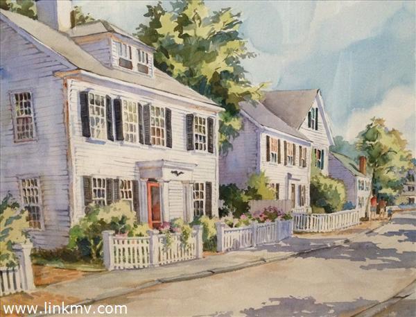 Historic Edgartown Home, belonged to Oscar Wining Actress Patricia Neal