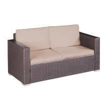 Palm Springs Outdoor 4 Pc Furniture Wicker Patio Set