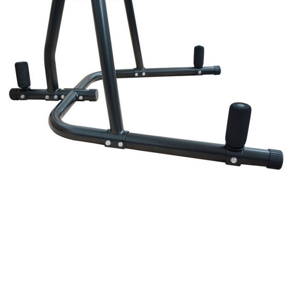 Confidence Dual Station Heavy Duty Boxing Punch Bag Stand Thai Kick Martial Arts