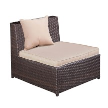 Palm Springs Outdoor 5 Pc Furniture Wicker Patio Set
