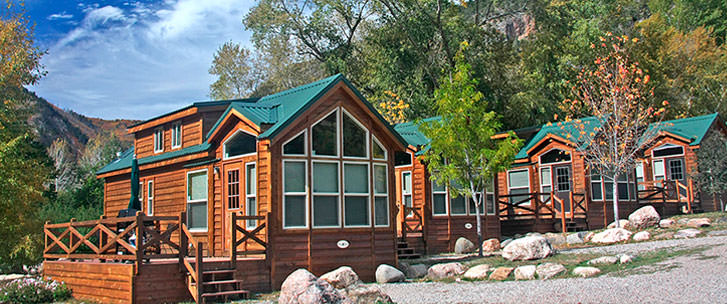 Glenwood Springs Luxury Cabins Vacation Cabin Rentals In